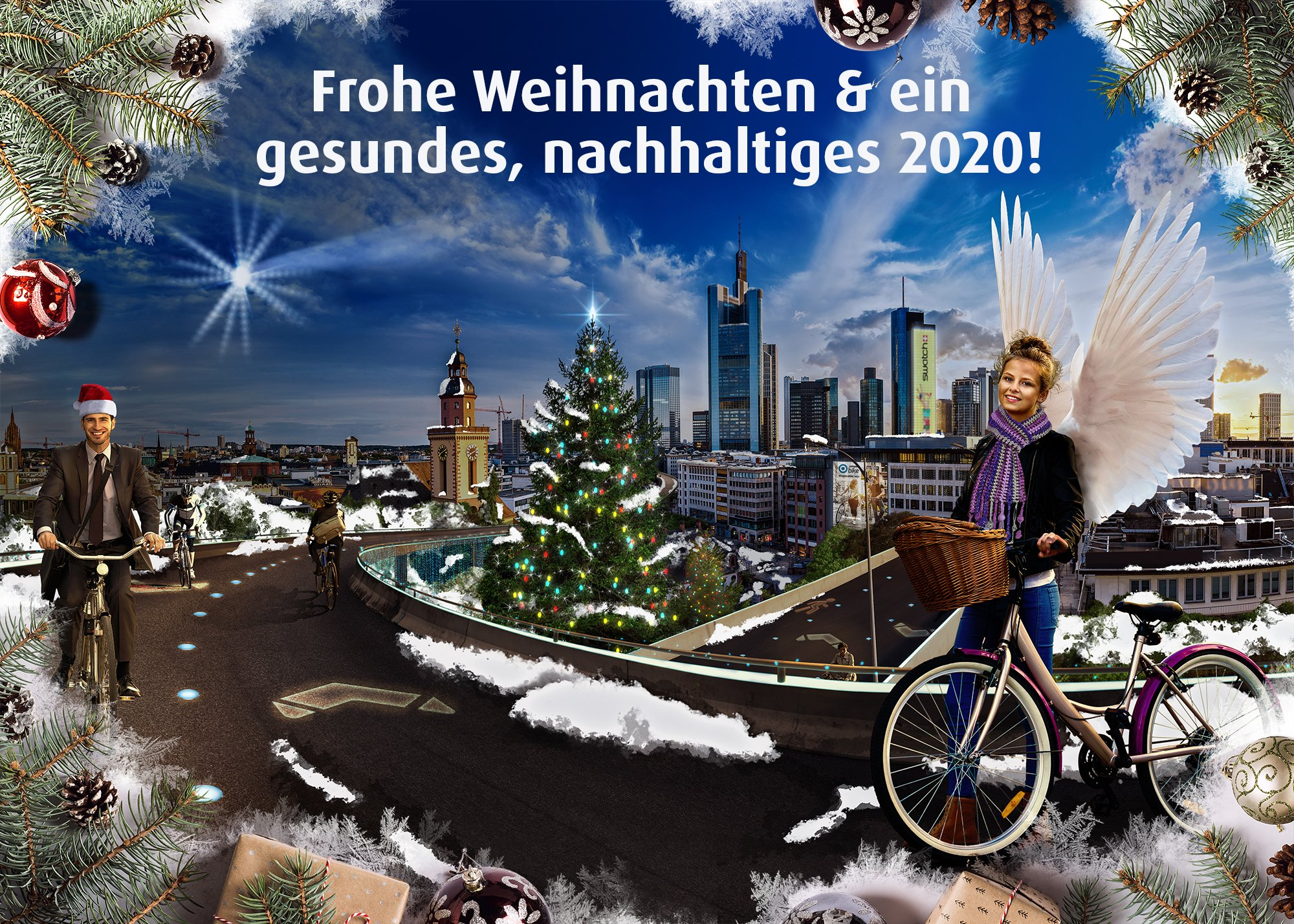 Flyer Adventsaktion für E-Bike-Leasing von Company Bike