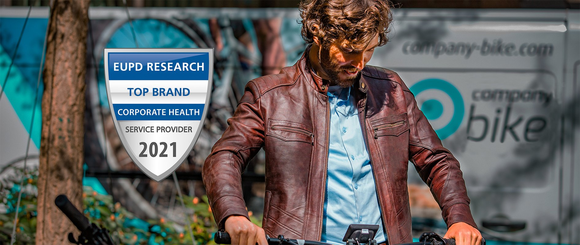 Company Bike wird Top Brand Corporate Health