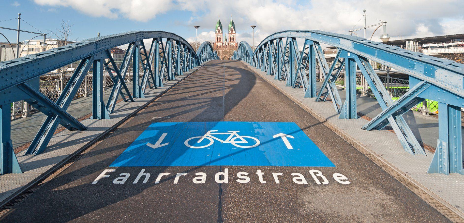 Fahrradstraße: Fahrrad- und Nahmobilitätsgesetz in NRW soll den Radverkehr fördern